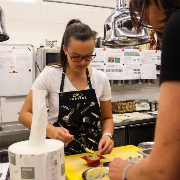 Lobster Škola vaření – low carb / foto 24