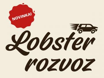 Novinka! Lobster rozvoz od 1. dubna