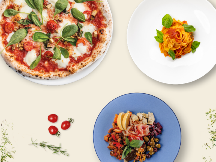 Pizza, Pasta & Antipasti all you can eat